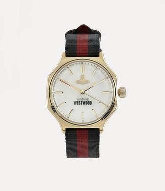 Vivienne Westwood Mile End Watch Champagne/Black