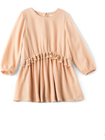 Chloé Kids Couture Crepe Stud Dress