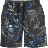 Firetrap Blackseal Jungle Swim Shorts