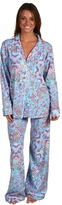 BedHead Cotton Stretch Pajama Set (Pink Moroccan Paisley) - Apparel