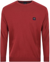 Paul & Shark Paul And Shark Limited Edition Knitted Jumper Red