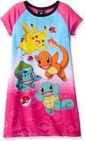 Pokemon Big Girls' Nightgown