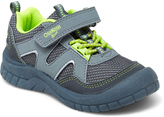 Osh Kosh Gray & Neon Green Grapple Sneaker