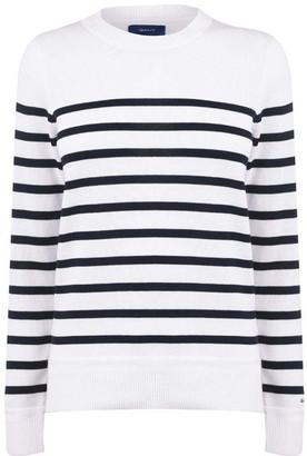 Gant Breton Stripe Long Sleeve T-Shirt