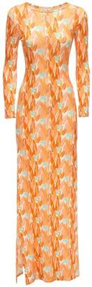 C'est La V Eivissa Stretch Jersey Long Dress