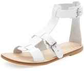 Marc by Marc Jacobs Flat Leather Gladiator Sandal