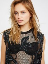 Free People We The Free Meshed Up Tee