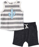 Petit Lem Boys' 2Pc Tank Top & Short Set