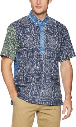 Reyn Spooner Men's Spooner Kloth Classic Fit Pullover Shirt