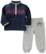 Tommy Hilfiger 2-Pc. Fleece Top & Jogger Pants Set, Baby Boys (0-24 months)