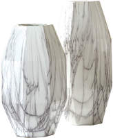 Twos Company Angles Ceramic Vases (Set of 2)