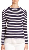 Joie Zaan E Striped Layered Sweater
