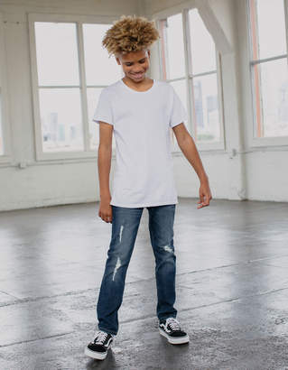 Rsq Tokyo Super Skinny Ripped Dark Vintage Boys Jeans