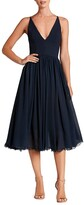 Thumbnail for your product : Dress the Population Alicia Chiffon Fit & Flare Dress