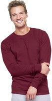 Hanes Men's Beefy-T Long-Sleeve T-Shirt