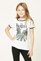 Forever 21 FOREVER 21+ Girls Beatles Band Tee (Kids)