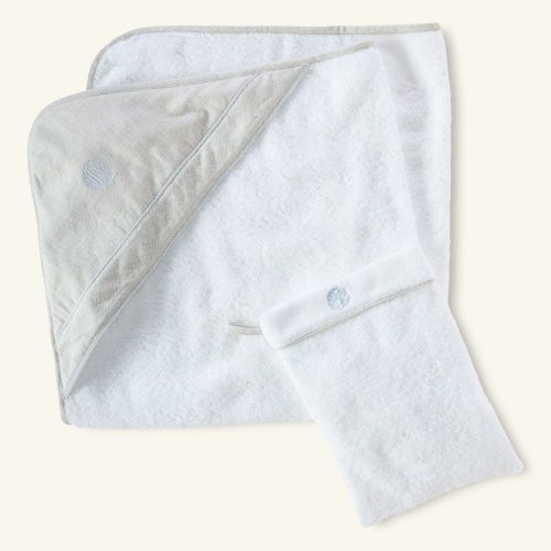 Ralph Lauren Cotton Towel & Mitt Set