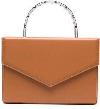 Amina Muaddi mini Pernille top handle box bag