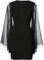 Aidan Mattox cut out detail dress