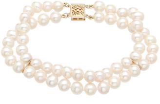 Pearls 14K 6-6.5Mm Freshwater Pearl Multi-Strand Bracelet