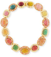 Nini Collection 18k Multicolor Tourmaline Necklace
