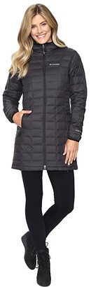 Columbia Voodoo Falls 590 TurboDown Mid Jacket (Black) Women's Coat