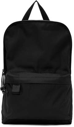 N.Hoolywood Black Porter Japan Edition Canvas Backpack