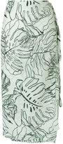 BRIGITTE printed skirt - women - Polyamide/Spandex/Elastane - P