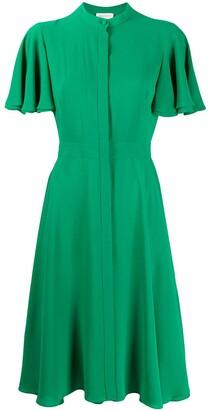 Alexander McQueen Asymmetric Midi Dress