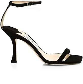 Jimmy Choo Marin Suede Sandals