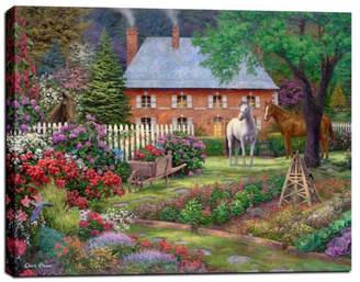"AR+ Epic Graffiti Cortesi Home ""The Sweet Garden"" by Chuck Pinson, Giclee Canvas Wall Ar"