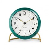 Arne Jacobsen Station Table Clock - Green