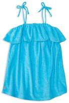 Ralph Lauren Girls' Terry Swim Cover Up - Little Kid