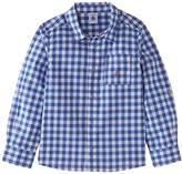 Petit Bateau Boy's Mobile Checkered Shirt