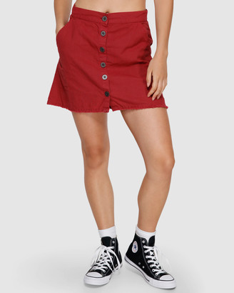 RVCA Shoutout Mini Skirt
