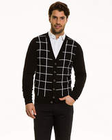 Le Château Windowpane Check Cardigan