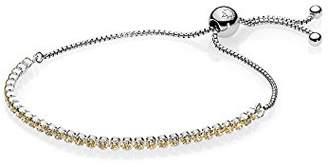 Pandora Women Silver Hand Chain Bracelet - 590524CCZ-2