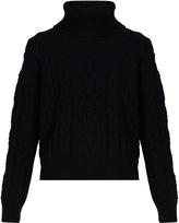 Nili Lotan Gigi cable-knit cashmere sweater