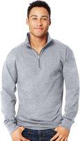 Hanes Men`s X-Temp 1/4 Zip Long-Sleeve T-Shirt, O5944, M