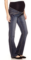 Asstd National Brand Maternity Overbelly Bootcut Jeans - Plus