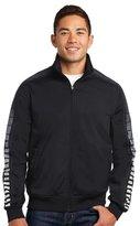 Sport-Tek Men's Dot Sublimation Tricot Track Jacket L