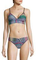 Hanky Panky Striped Lace Bikini Top