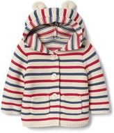 Gap Americana bear garter sweater