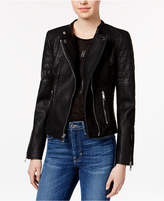 GUESS Jazmin Saint Faux-Leather Moto Jacket