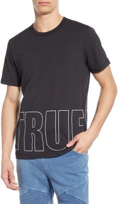 True Religion Brick Logo Graphic T-Shirt