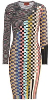 Missoni Printed Knitted Wool-blend Dress