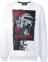 Markus Lupfer gorilla print sweatshirt - men - Cotton - XL