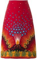 Valentino 'Volcano' skirt