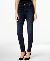 INC International Concepts Beyond Stretch Midlake Wash Curvy-Fit Skinny Jeans, Only at Macy's