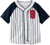 Osh Kosh Toddler Boy Striped Baseball Top